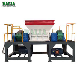 Easy Operation Double Shaft Shredder Machine For Waste Mattress / Rubber Foam