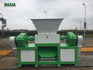 Durable Double Shaft Metal Shredder Machine High Capacity Copper Cable Shredder